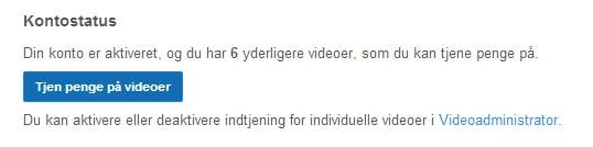 youtube-indtjening